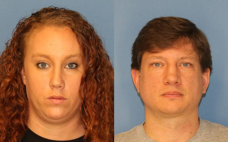 According to deputies, Amanda Mills and Steven Jernigan intentionally caused the death of the horse she owned by depriving it of necessary sustenance, food and drink. (Photos: Wayne County Sheriff's Office)
