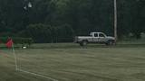 Police search for truck that damaged Concord Little League parking lot