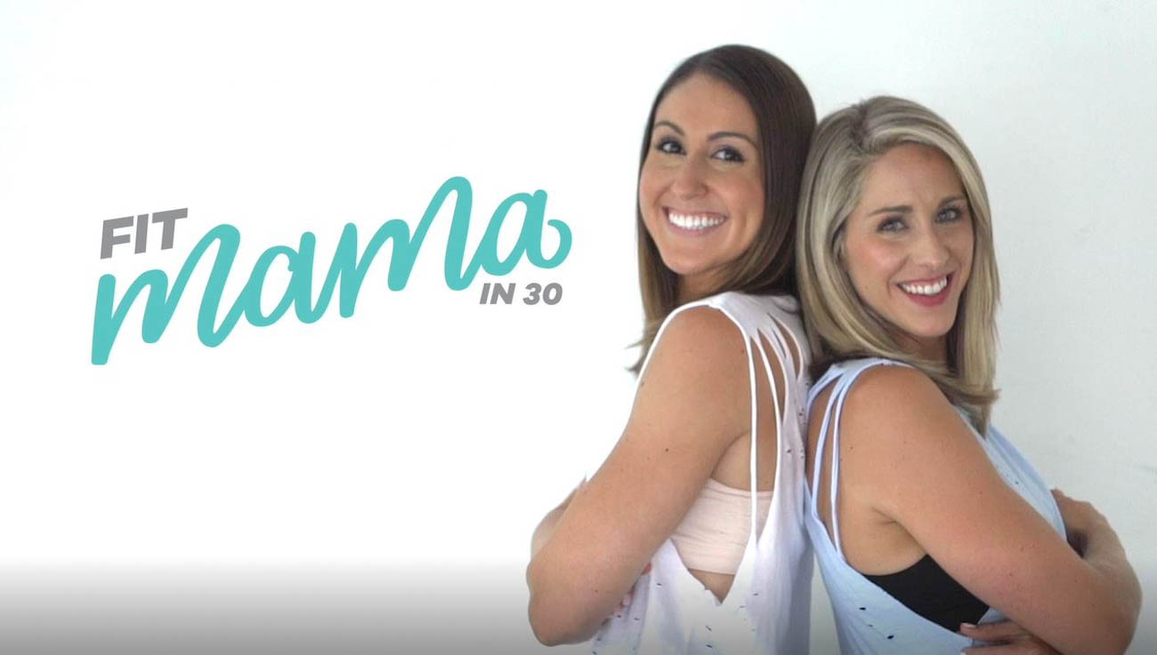 Bailey & Cari Oschman, co-founders of Fit Mama in 30{ }/ Image courtesy of Fit Mama in 30 // Published: 6.15.19
