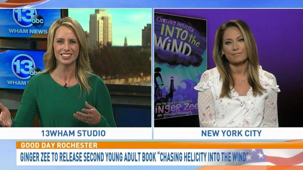 GMA's Ginger Zee talks about her new book on Good Day