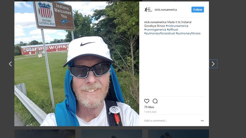 Man Running From La To Ny For Charity Hospitalized After
