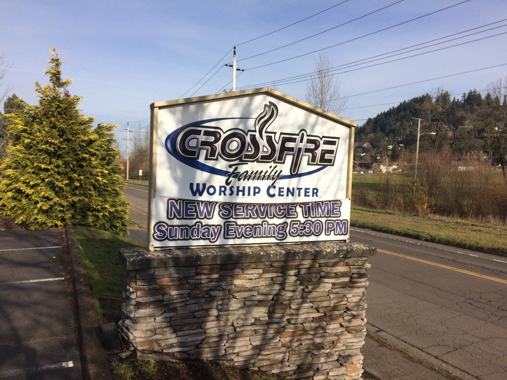 <p>St. Vincent de Paul is the new owner of what had been the South Eugene Crossfire Ministries worship center at the corner of West Amazon Drive and Fox Hollow Road. The $1.2 million purchase was made possible by an anonymous $2 million donation to St. Vincent de Paul. (SBG)</p>