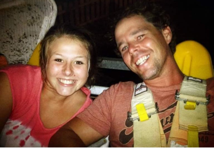 "Photo: Jeff ""Swede"" Swedenhjelm and his daughter Lyric prior to suffering a near-fatal fall in Bali in December 2017 Courtesy: Lyric Swedenhjelm"