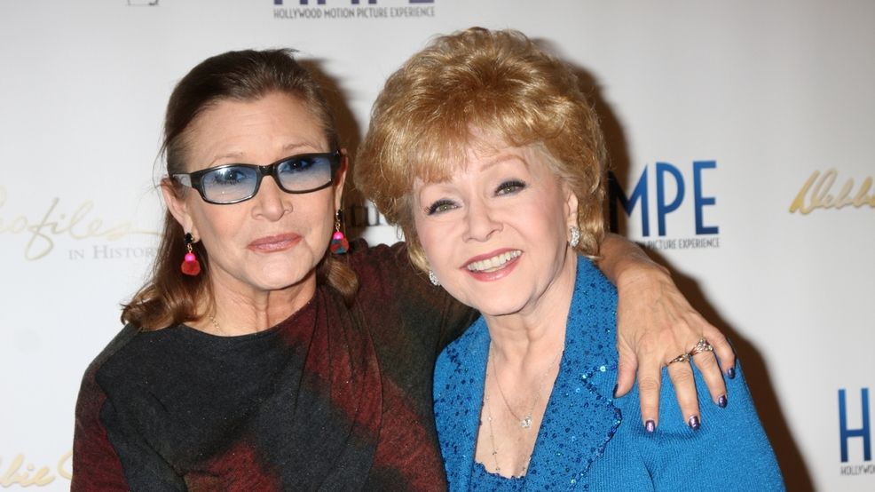 Carrie Fisher and Debbie Reynolds remembered in public memorial service