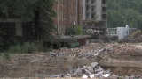 Behind the barricades: See what's left of the Majestic Hotel