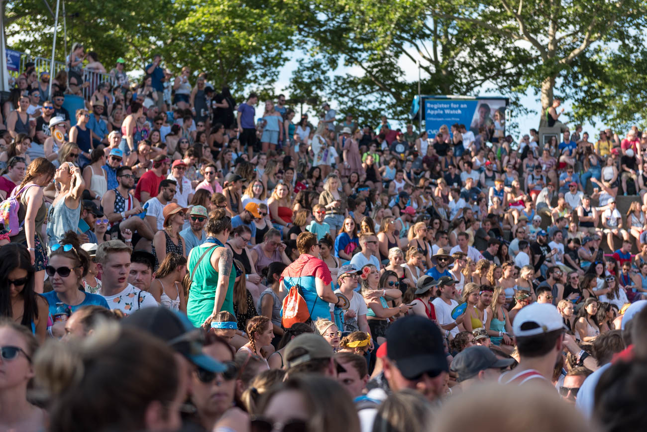 In all my years, I don't think I've seen it more crowded than this year at Bunbury. / Image: Mike Menke // Published: 6.3.18