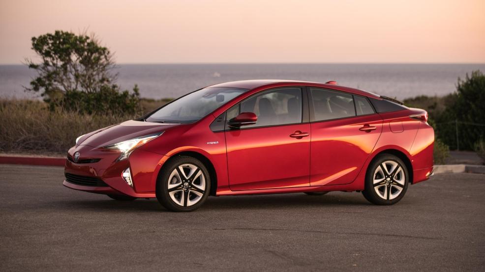 Eco Cheap New 2017 Toyota Prius One Trims Hybrid Price Kbak