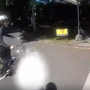 Caught on camera: Motorcycle crashes into bicyclist in Portland