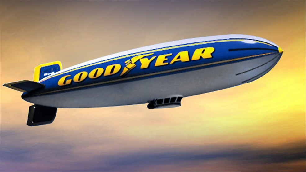 Hometown Auto Sales >> Rare air: Goodyear Blimp honored with Hall of Fame induction | KHQA