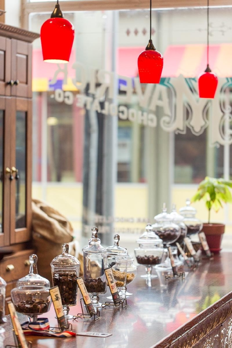 The Maverick Chocolate Co. factory store is located at Findlay Market (129 W Elder St., 45202).  --  Image: Daniel Smyth Photography