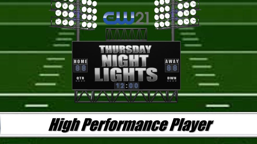High Performance Players under the Thursday Night Lights