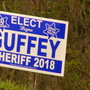 Rutherford County sheriff candidate presses charges against accused campaign sign thief
