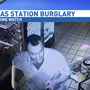 Deputies searching for gas station burglar