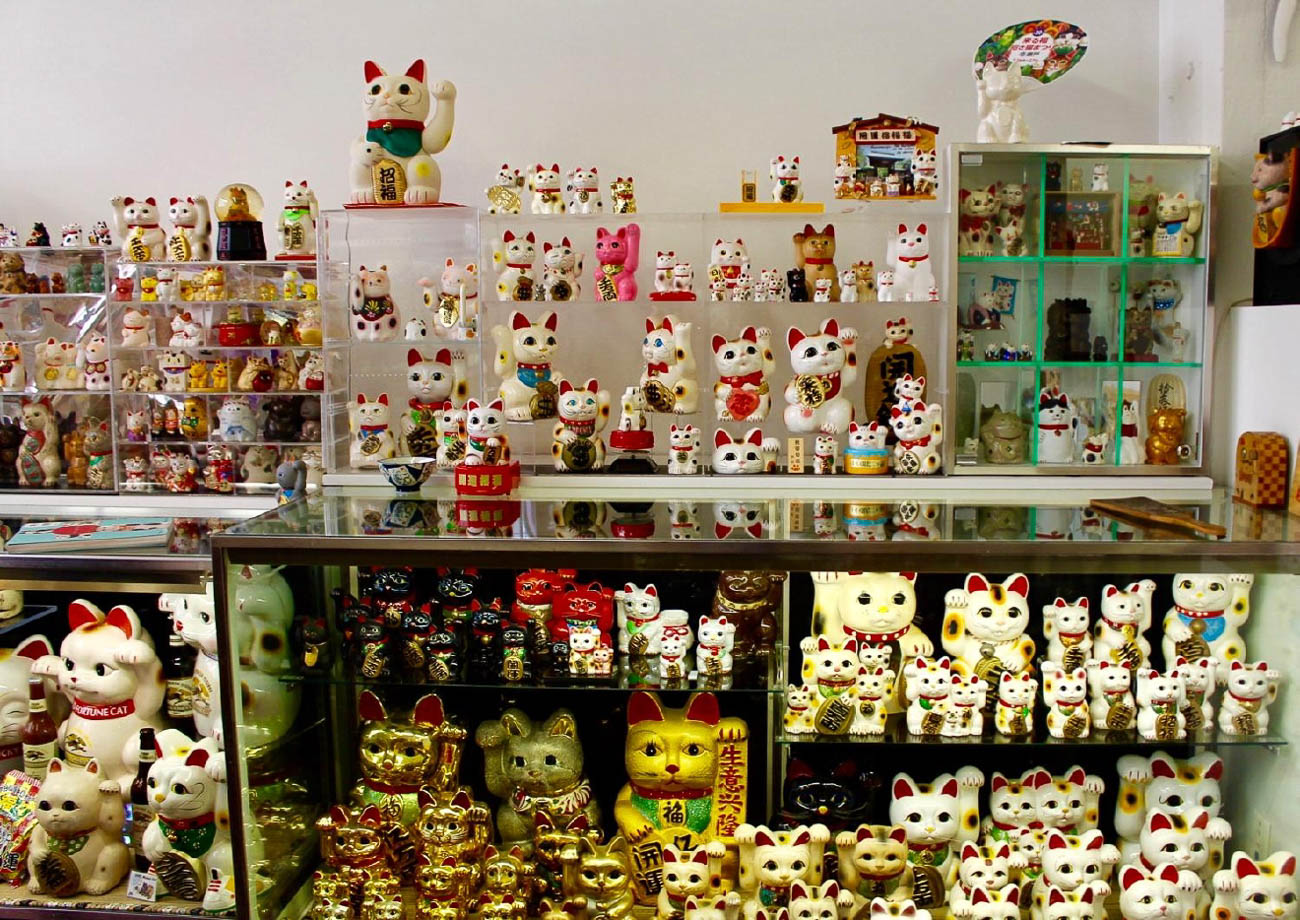 MUSEUM #4: Lucky Cat Museum / ADDRESS: 2511 Essex Place #150 (45206) / DESCRIPTION: The quirky site pays homage to Maneki Neko—the 'Beckoning Cat' lucky charm in Japanese culture—and is home to hundreds of feline statues in all shapes, sizes, and colors. / HOURS: Tuesday-Saturday from 3 PM-6 PM / COST: Free / Image: Rose Brewington // Published: 7.12.19