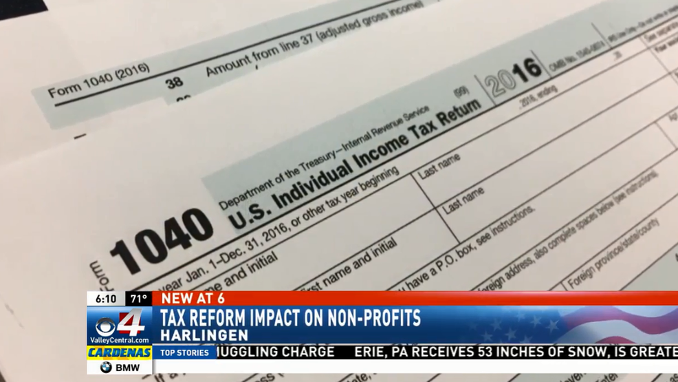 Tax Reforms Impact On Local Nonprofit Organizations Kgbt