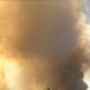 Smoke being seen in Canadian area is from large Kansas grass fire