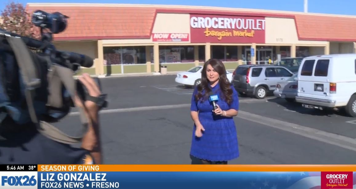 Watch what happened when FOX26 News reporter Liz Gonzalez surprised a woman shopping for groceries in Southeast Fresno.