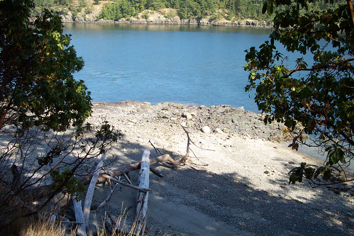 Ram Island is located about 9 miles east of Anacortes Washington on Lopez Pass between Lopez and Decatur Islands, and is 8.8 acres according to the San Juan County Assessor. It's for sale with Kent Meeker Inc. for $3.5 million. (Image: Kent Meeker)