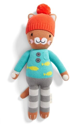 Cuddle + Kind Small Animal Character - $48. Great fit for a toddler or little girl. Plus, it's a gift that gives back. For every cuddle+kind doll sold, the company gives 10 meals to children in need. Purchase at Cuddle and Kind and Nordstrom. (Image: Nordstrom)<p></p>