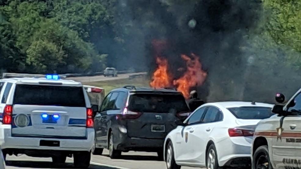 Wrong-way crash on I-10 kills 4, injures 1 following deputy chase   WPMI