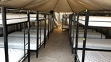 HHS gives first look inside immigration tents at Tornillo port of entry