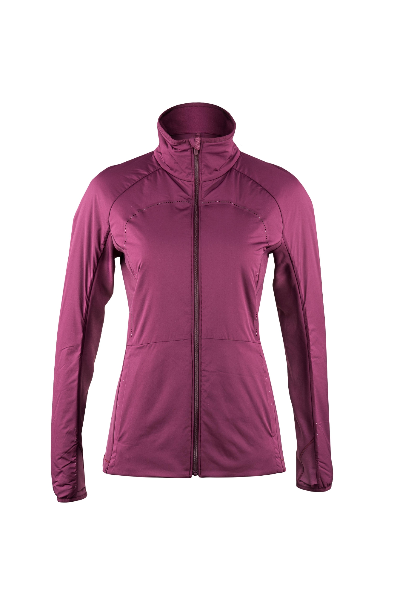 Lululemon Run For Cold Jacket, Designed with strategically weighted Primaloft® Active insulation, this jacket aims to keep you warm where it counts. Synthetic insulation retains warmth when it gets wet and the low-profile loft allows you to stay flexible and nimble. (Photo: Lululemon)