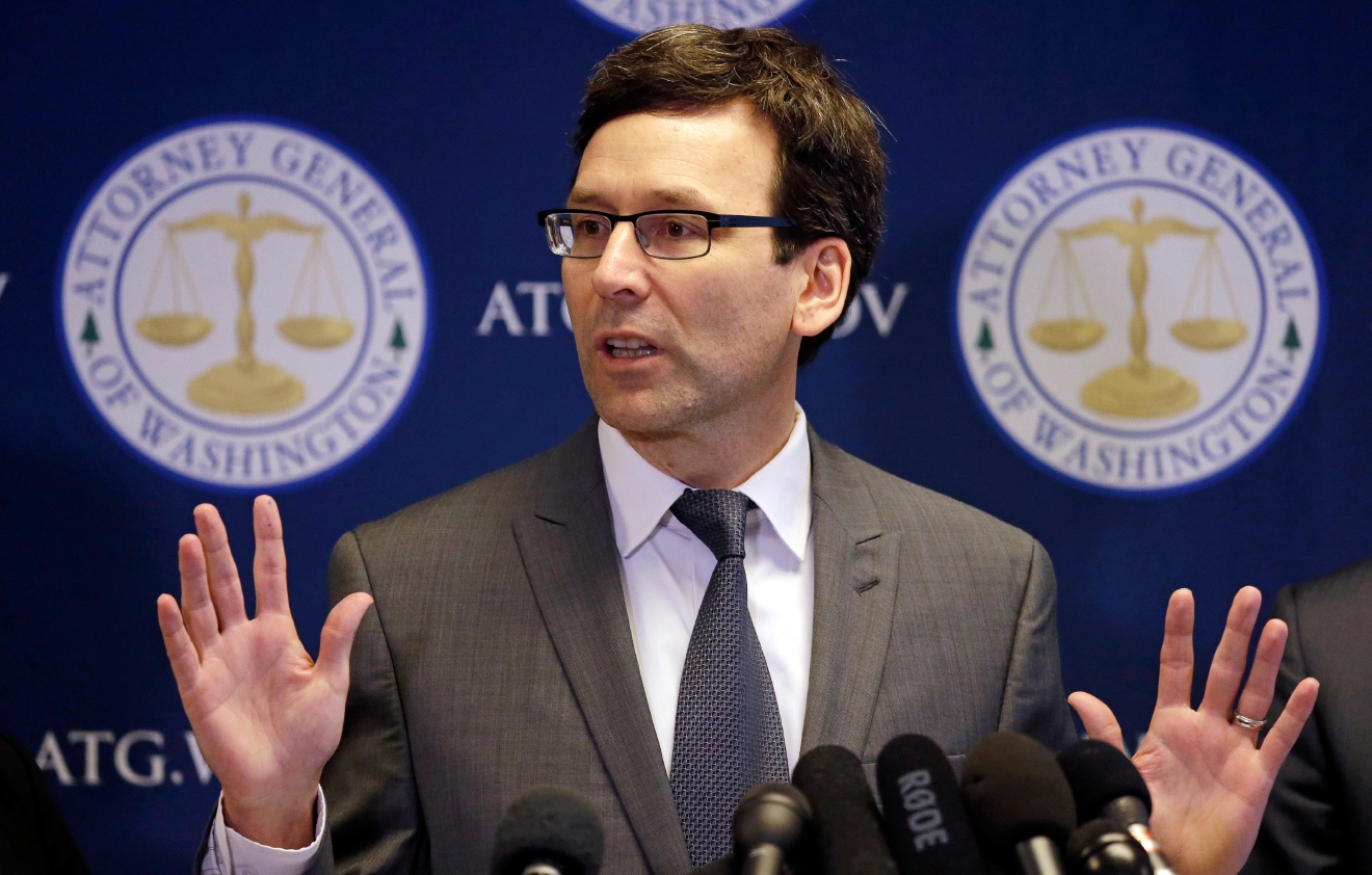 Washington State Attorney General Bob Ferguson. AP file photo