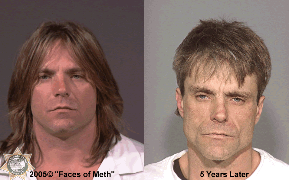 Before and after (Photo and info courtesy of the Multnomah County Sheriff's Office)