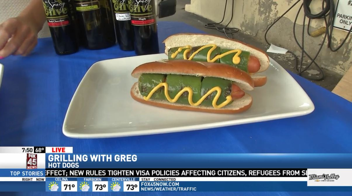 Grilling with Greg: Chicago style hot dogs (WKEF/WRGT)