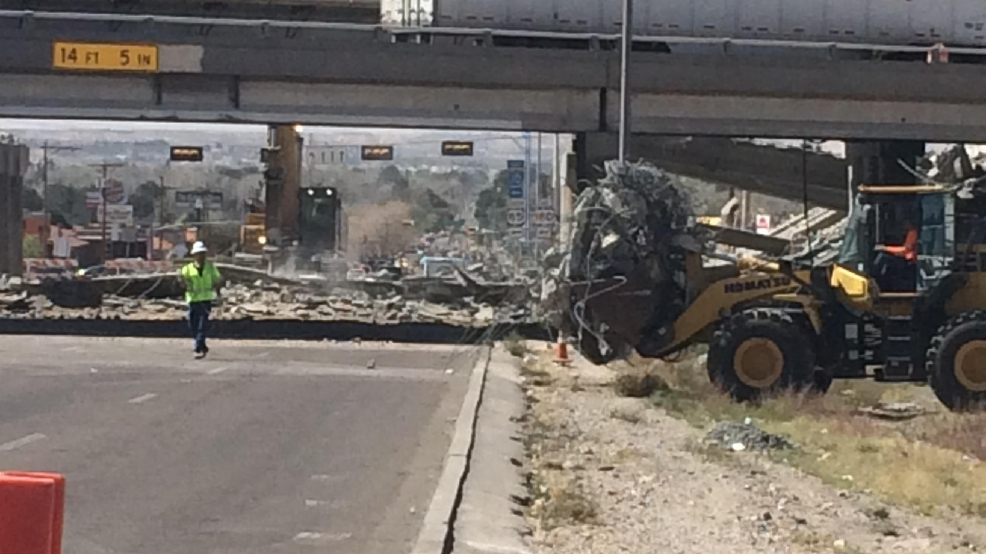 27-hour closure affects El Paso drivers as I-10's Mesa overpass is demolished | KFOX