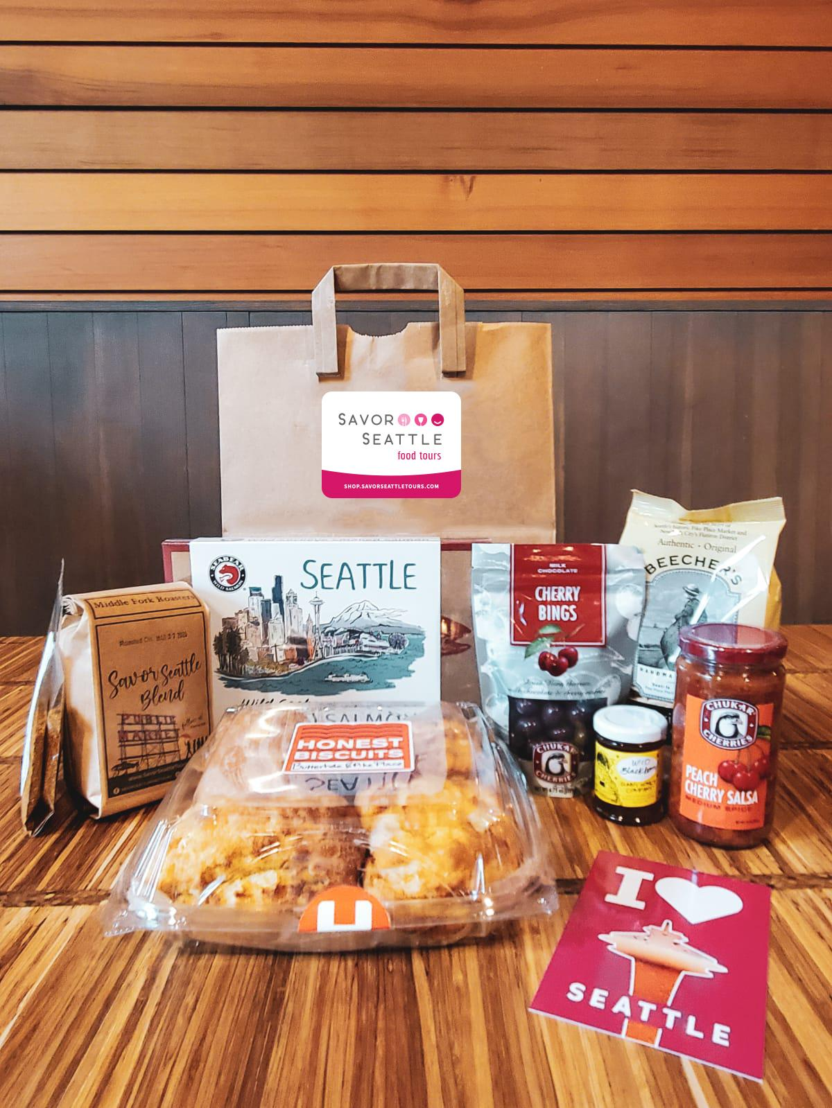 Everything you love about Pike Place delivered to your front door. (Image: Savor Seattle)