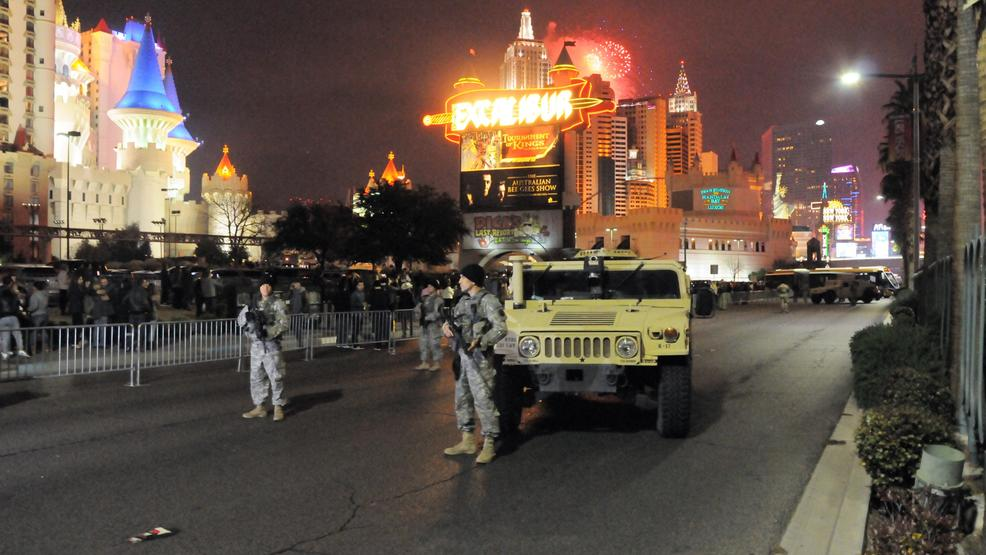 nevada national guard stationed around the valley for new year s eve