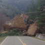 Landslide blocks road between Tyee and Umpqua