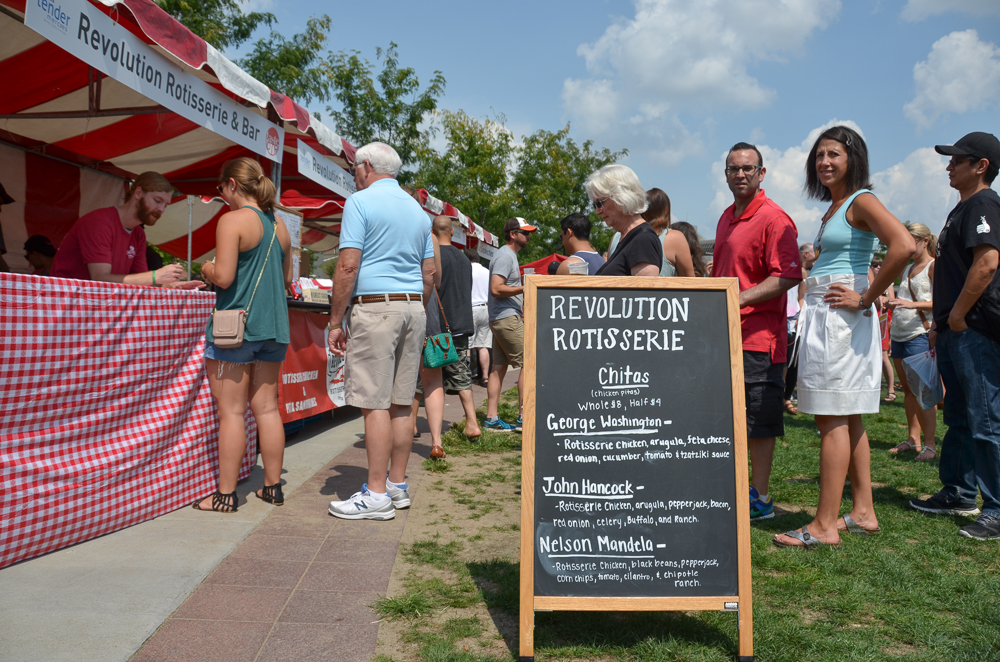 The Third Annual Taste of OTR was held on Saturday, August 29 in Washington Park. The event is produced by Tender Mercies, a local non-profit organization benefiting homeless adults with histories of mental illness. [Image: Sherry Lachelle Photography]