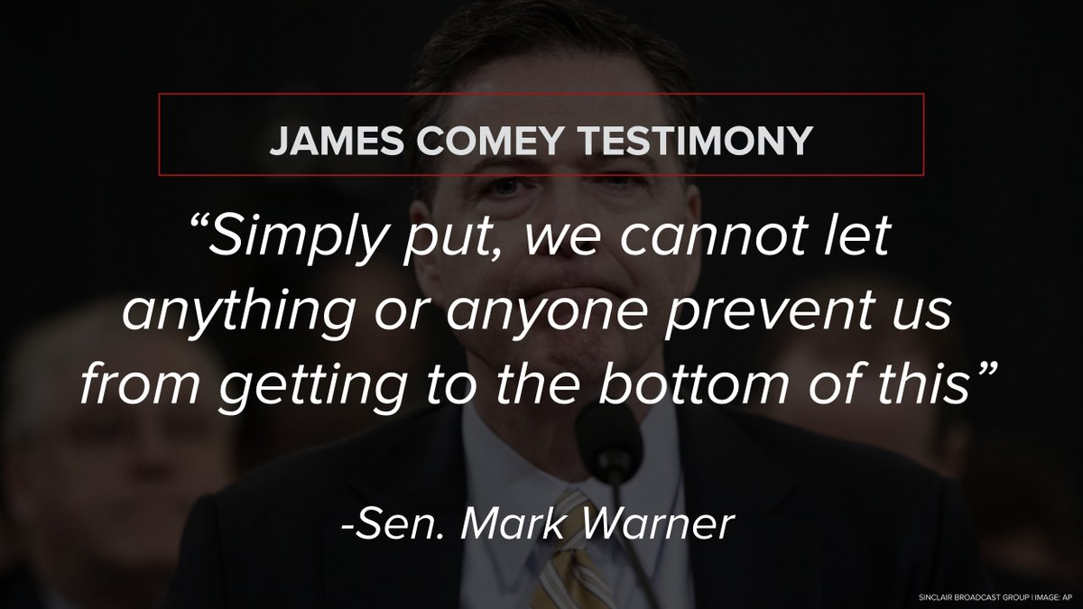 Key quotes from James Comey testimony to Congress