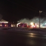 Crews respond to mobile home fire in Kearney