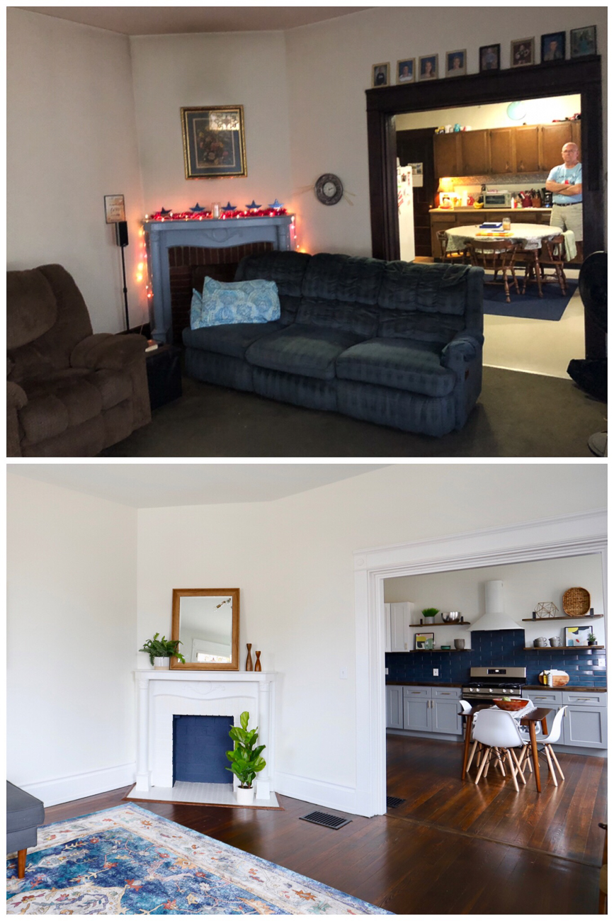 Before and after /{ }Image courtesy of Nicole Nichols // Published: 4.10.19