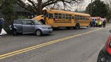 School bus filled with children crashes in Northeast Portland