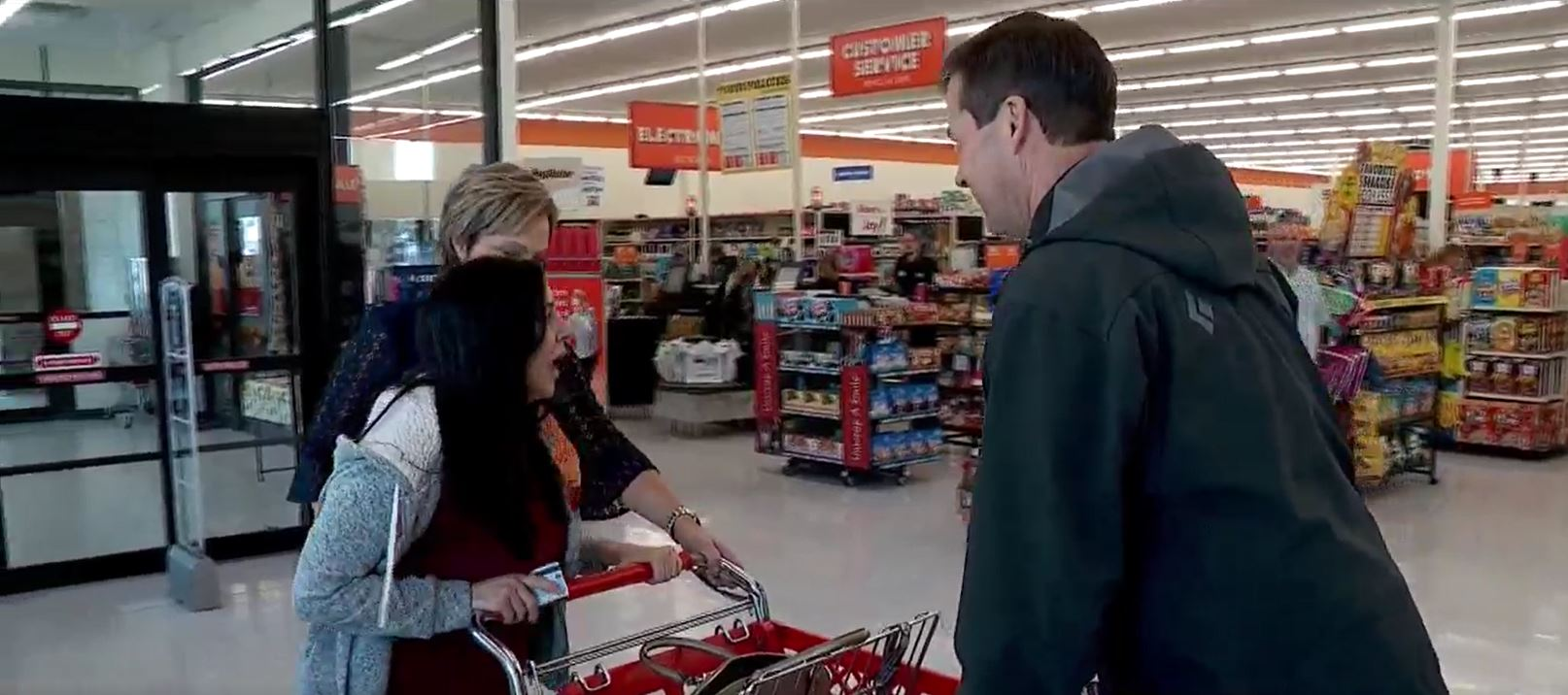 Share the Joy! Woman visits Big Lots to give to charity, receives $500 shopping spree. (Photo: KUTV)