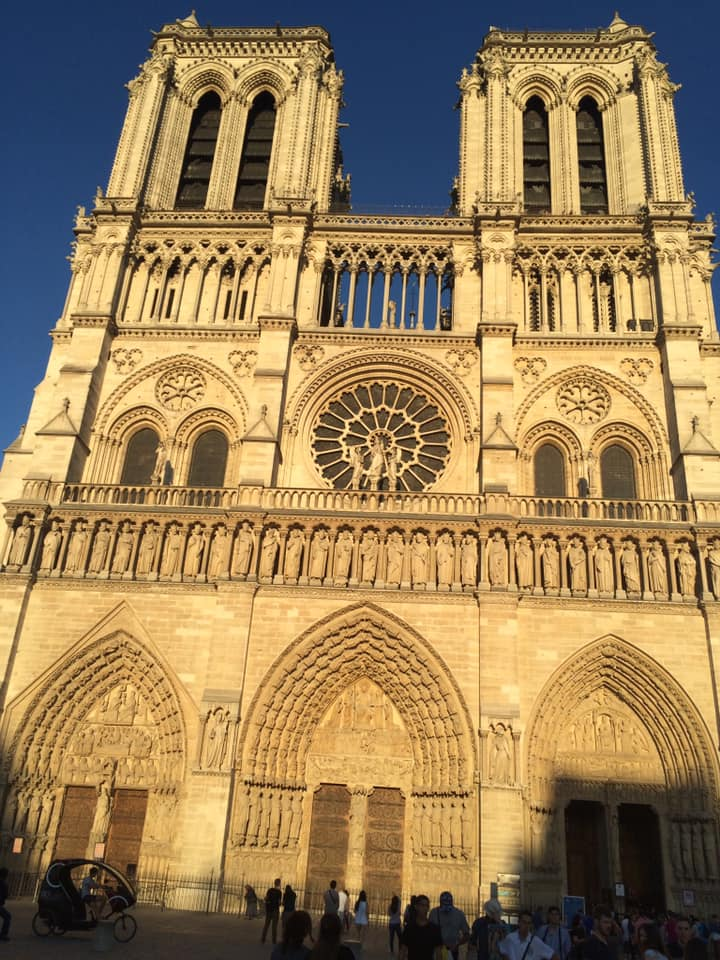 Locals shared their memories and photos of the historic Notre Dame on April 15, 2019 after hearing the gothic Parisian cathedral suffered serious damage after a fire. (Image - Michon Althoff Dowling)
