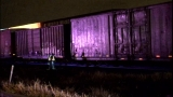 Man survives being hit by train on Northeast Side