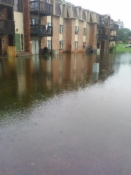 The Arbors Apartment complex in Battle Creek. (Jamie Lyn Rupe)