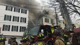 Fire rips through Biddeford apartment building