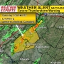 Severe weather warning for Lynchburg area