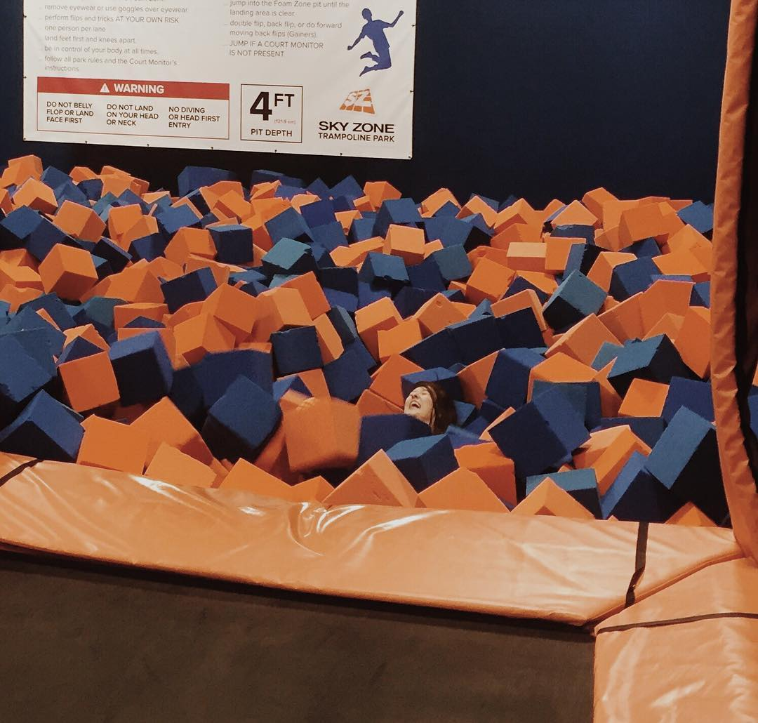 4. SkyZone: for the adult who has the energy level of a horde of kids. ADDRESS: 11745 Commons Dr (45246) / Image: IG user @mollycottingham / Published: 1.6.17