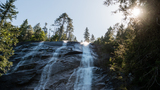 Bridal Veil Falls is a low-key hike with an epic payoff
