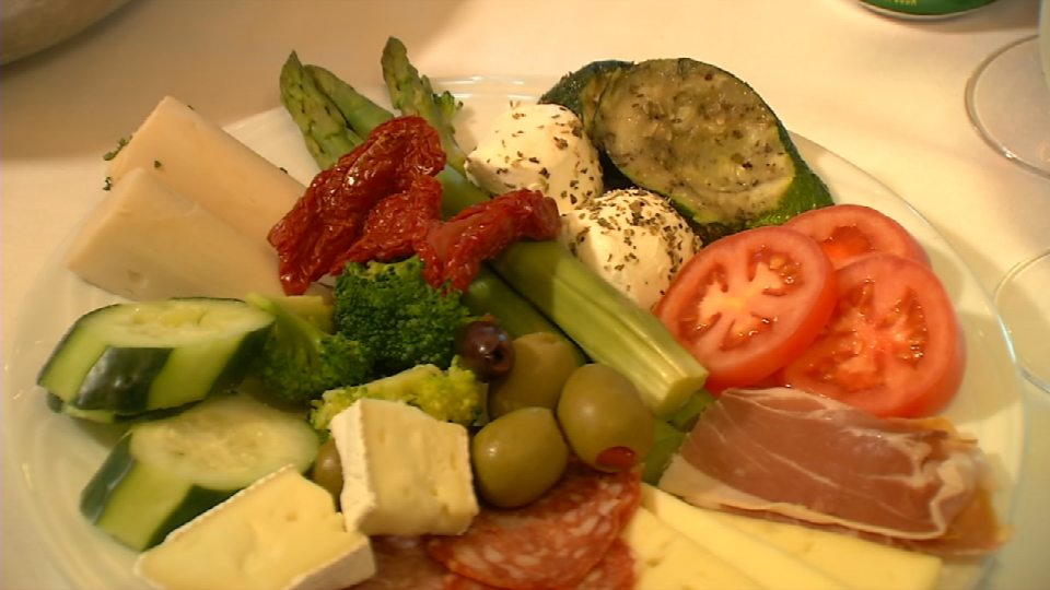 Brazilian appetizers include different kind of cheese, bacon, pepperoni, asparagus, tomato, and artichoke. (News 4 San Antonio){&amp;nbsp;}<p></p>