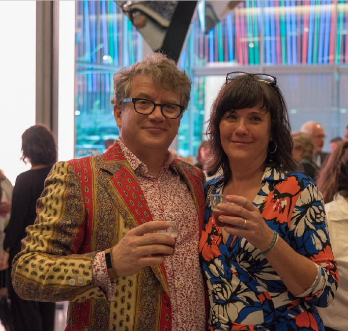 Peeps: Gil & Kate Phipps / Event: CAC Book Release Gala (8.26.16) / Image: Phil Armstrong, Cincinnati Refined