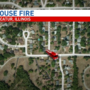 Decatur house fire damages two-story home