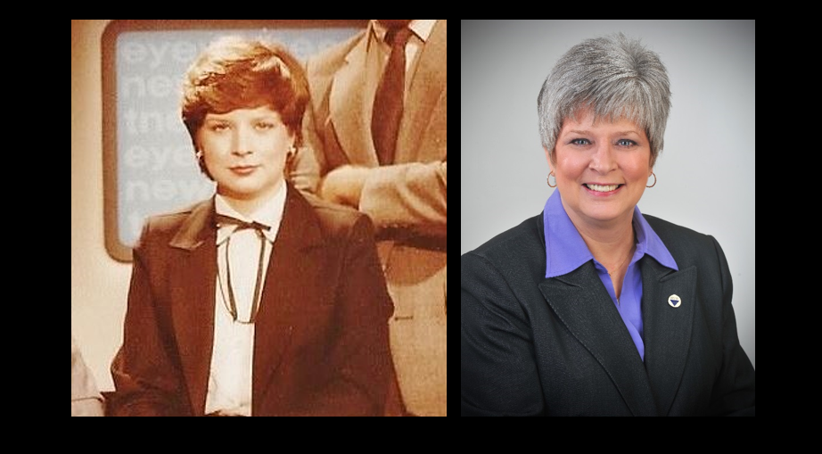 """My Tenure at NTV—Susan Toycen Alderman Feb. 1980 to July 1982: Harvey Edmonds was the news director; Frank Brousseau had just taken over as the GM, Wayne Lansche was the sales manager and Beth Riese ran the desk in the newsroom. Co-anchor with Carl Dean on the 6 and 10 p.m. newscasts; Don Slater (Schloeder) did the weather and Rich Thiesfeld was sports anchor. After NTV, WPTA-TV, Fort Wayne, Indiana: 6 and 11 p.m. co-anchor from August 1982-January 1989 WKJG-TV (Now WISE-TV), Fort Wayne, Indiana: reporter, producer, fill-in anchor, assignment editor, assignment manager, planning manager from December 1990 to February 2001. I now work at Indiana University-Purdue University Fort Wayne (soon to be Purdue University Fort Wayne) as a marketing specialist in the Marketing Communications office. I just celebrated my 15-year anniversary here. I've been married to my husband, Bob Alderman, since 1984."" -Susan Alderman"